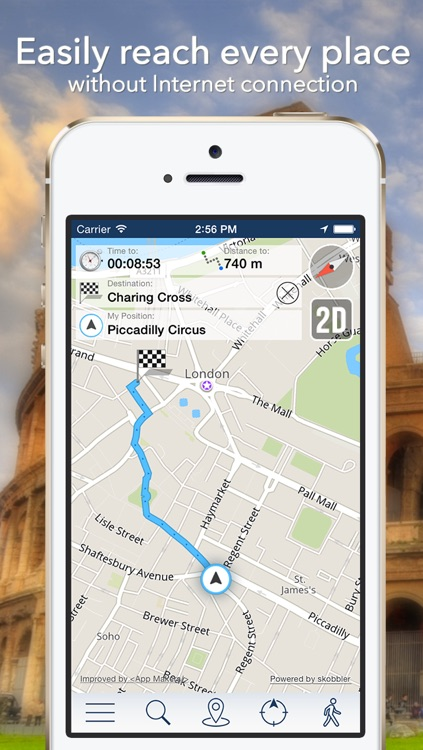 Sicily Offline Map + City Guide Navigator, Attractions and Transports