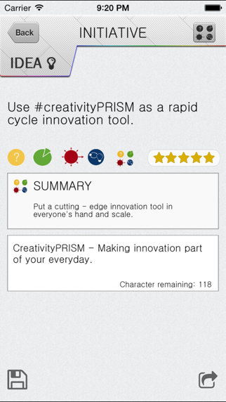 creativityPRISM - Innovation in your hand. screenshot four