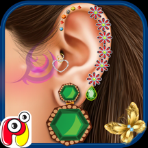 耳朵 Spa 沙龙-耳治疗医生、 疯狂的手术和水疗中心游戏