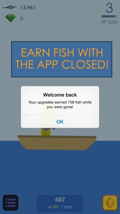 Fishy Clicker - Original Incremental Idle Game about Fishing screenshot-3