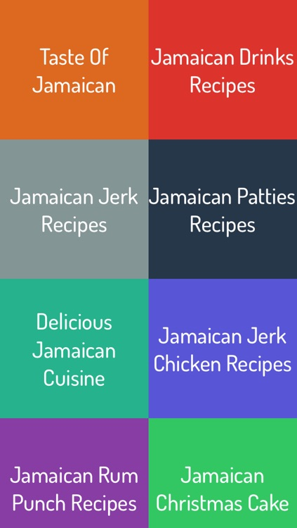 Jamaican Food Recipes screenshot-0