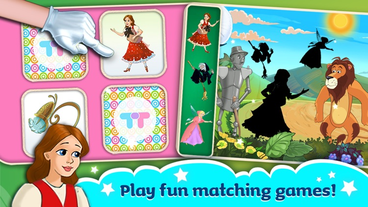 The Wizard Of Oz -  All In One Education Center & Interactive Storybook for Kids screenshot-3