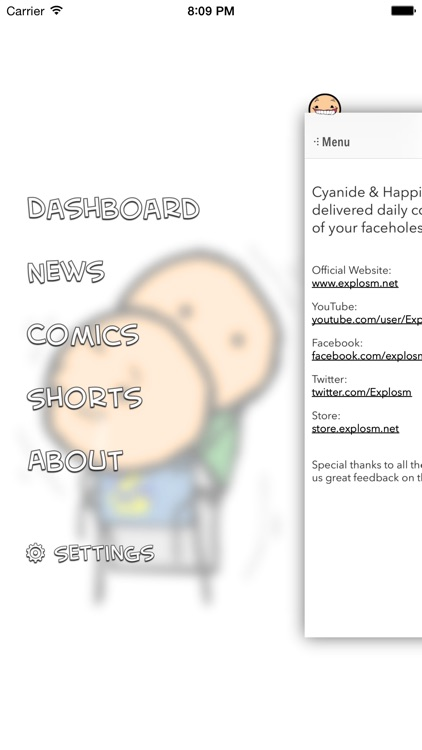 Cyanide and Happiness : Daily web comics, news, and videos screenshot-3