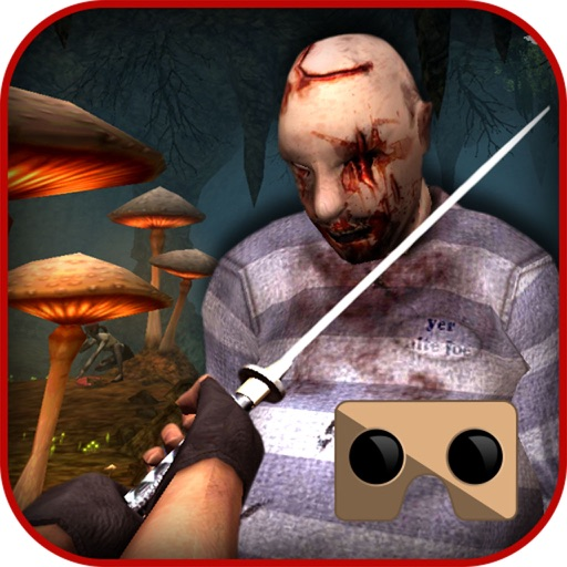 VR Zombies Warrior Shooter: Real Action Game 3D