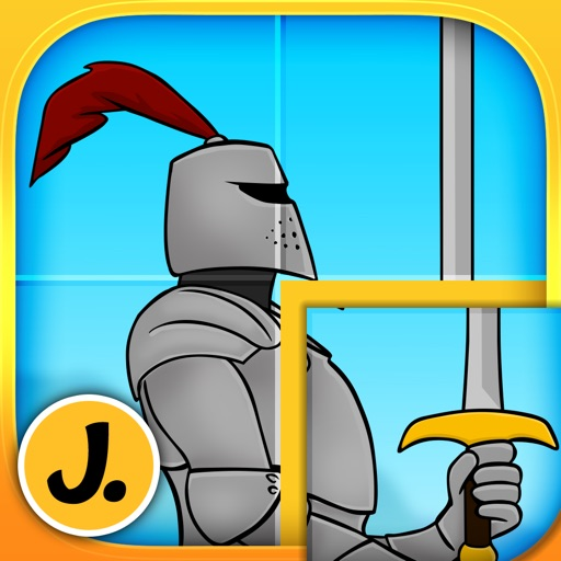 Kids & Play Brave Knights and Dragons Puzzles for Toddlers and Preschoolers