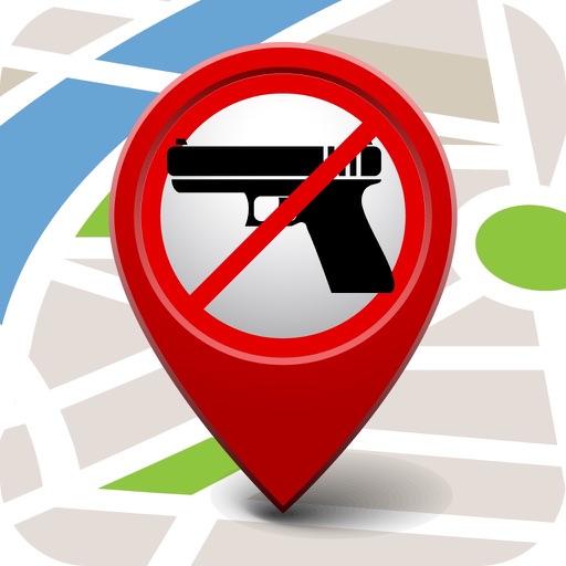 Anti-Gun Locations