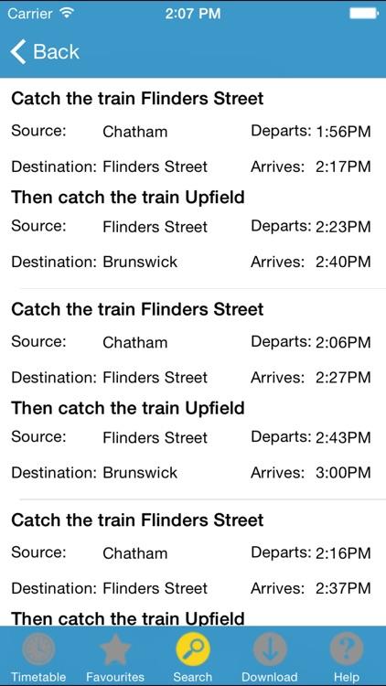 TrainTracker screenshot-3
