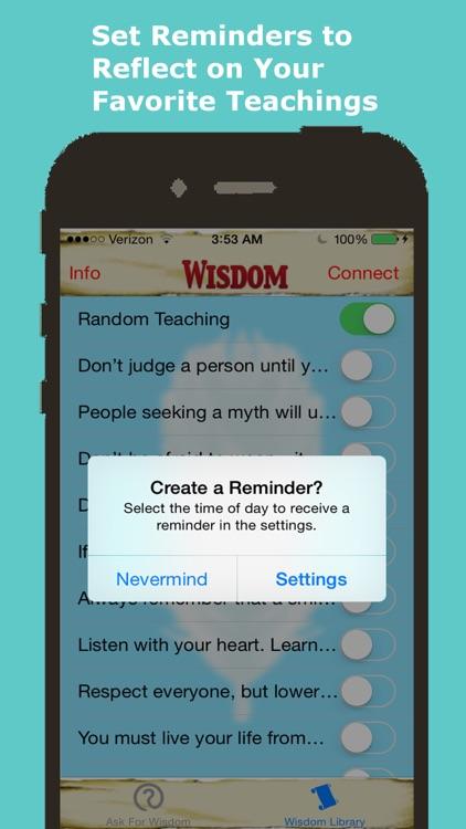 Native American Daily Wisdom screenshot-3