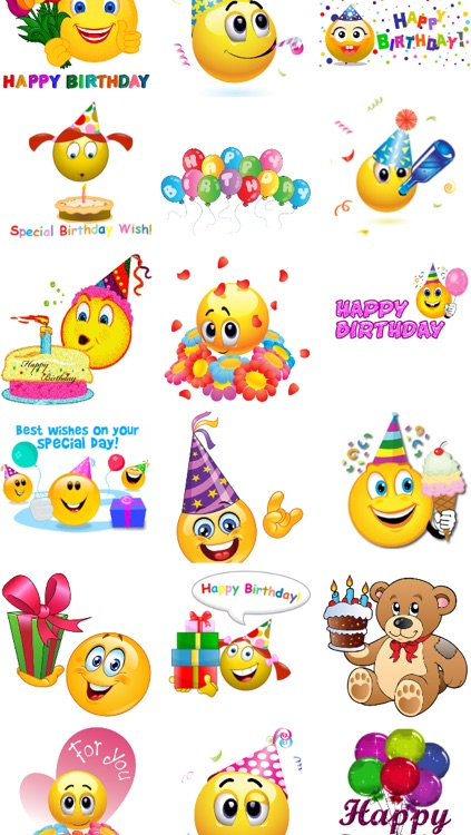 Birthday Emojis screenshot-2