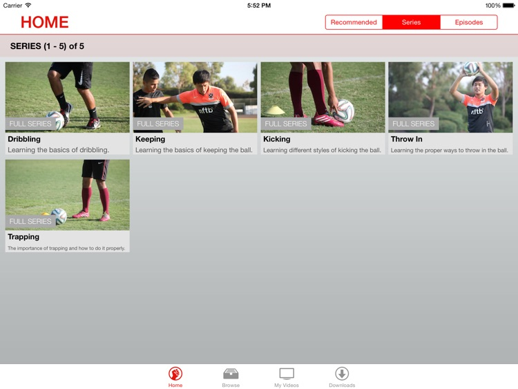 Soccer Lessons for iPad screenshot-1