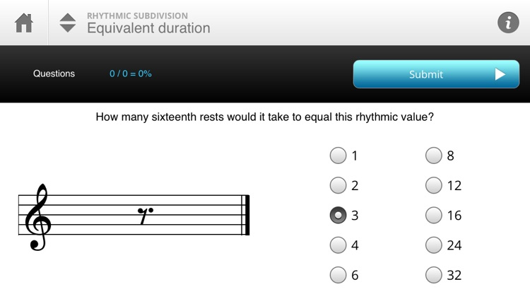 Musition Rhythmic Subdivision screenshot-1
