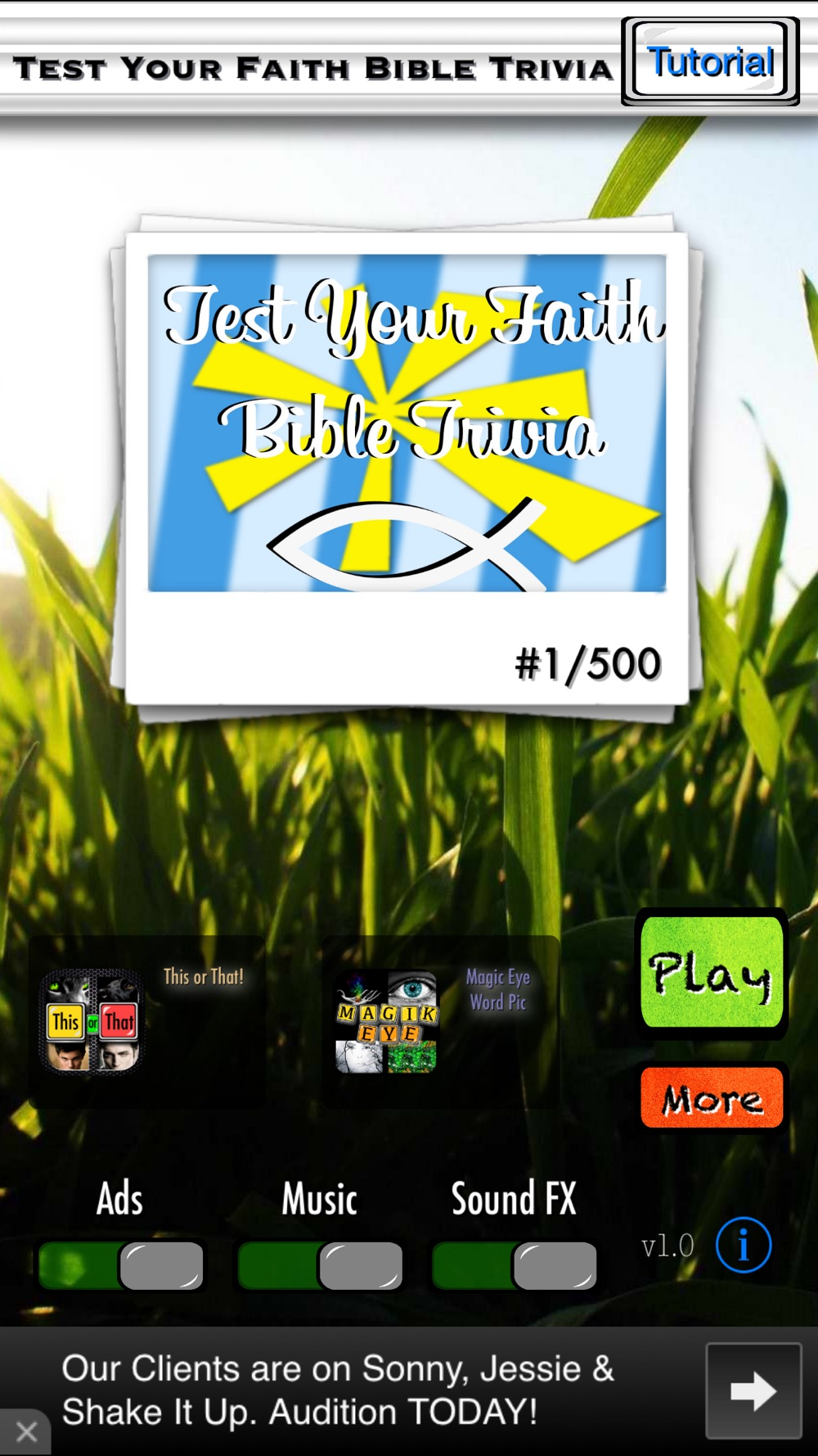 Test Your Faith Bible Trivia – Know the Good Book and Grow Closer to God Cheat Codes