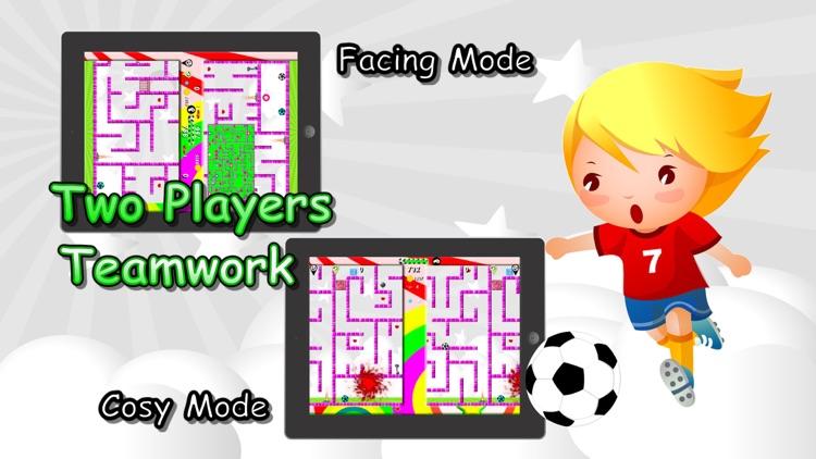 Soccer Mazes 2 Multiplayer