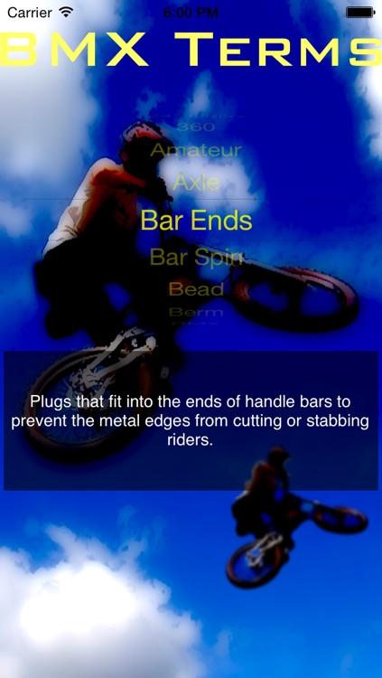 BMX Terms