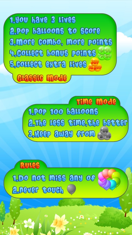 Balloon Mania - Pop Pop Pop screenshot-3