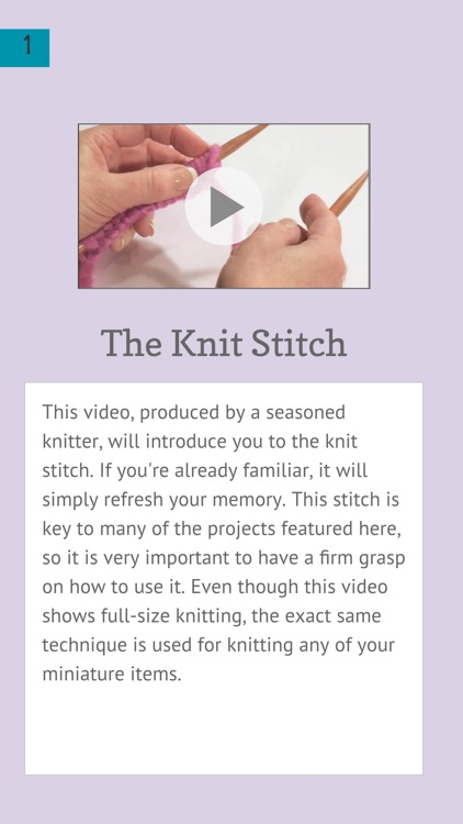 Mini Knitting and Crochet screenshot-4