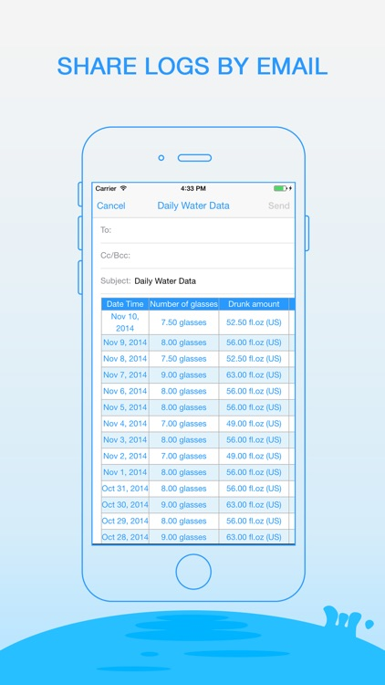Daily Water - Drink Tracker and Reminder screenshot-4