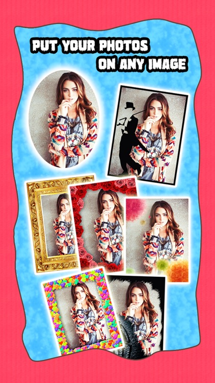 Sketch Shape Pro -  Photo Collage Editor to add Pencil Portrait Effects & Quirky Frames on Pic screenshot-3