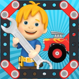 Car Maker Games: Fun Simulator Games for Kids Boys & Girls. Build & Make Vehicles, Play lego puzzle & sims test driving