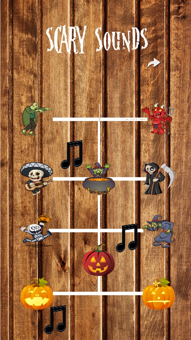 Halloween Sounds Mania - Scary, Creepy, Spooky !!! Screenshot
