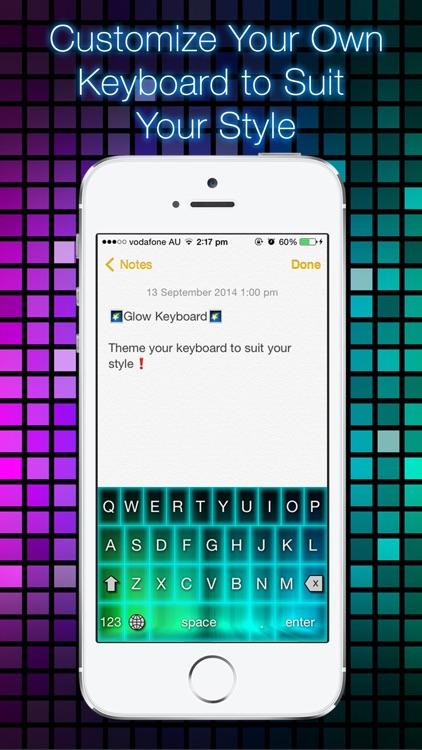 Glow Keyboard - Customize & Theme Your Keyboards