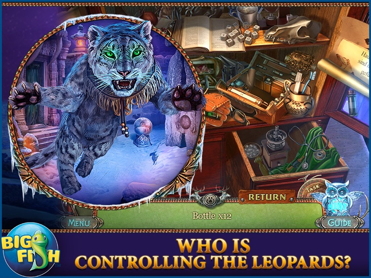 Fierce Tales: Feline Sight HD - A Hidden Objects Mystery Game screenshot-1