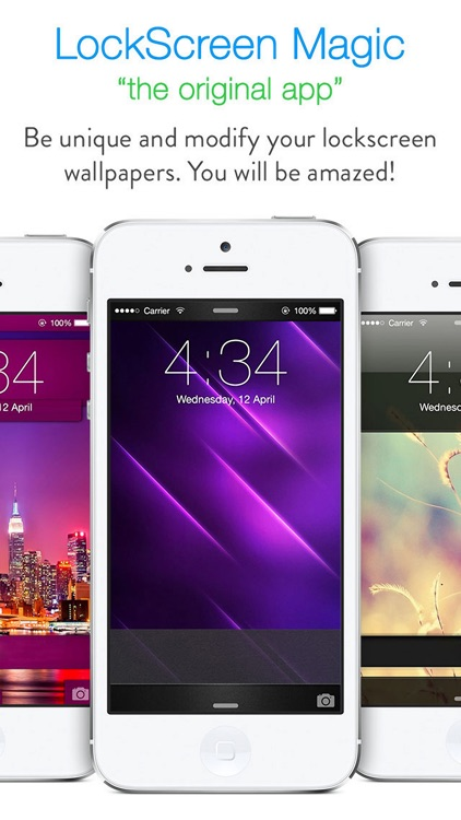 LockScreen Magic for iOS8 : Custom Themes, Backgrounds and Wallpapers for Lock Screen screenshot-4