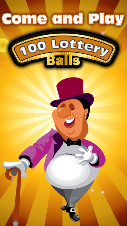 100 Lottery Balls - Catch the Balls as They Drop into Your Cup