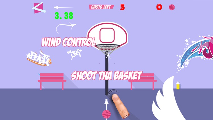 Basketball Flick - Dunk Slam Showdown