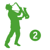 JAZZ DUETS 2 for alto sax