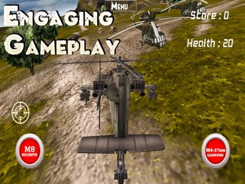 Игра Boeing AH-64 Апач - боевой Ударный вертолёт симулятор - Танк охотник