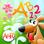 Le Jardin Magique des Chiffres et des Lettres - Un jeu de logique pour les enfants pour apprendre l'alphabet et les nombres