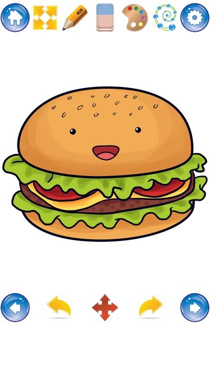 How to Draw Cute Food screenshot-4