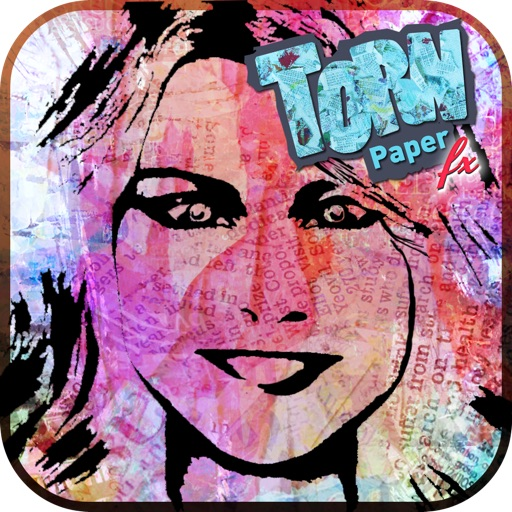 Torn Paper Art FX - Turn Your Normal Photos into Creative Torn Paper Pictures