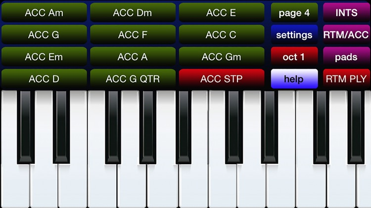 oriental / international organ keyboard screenshot-3