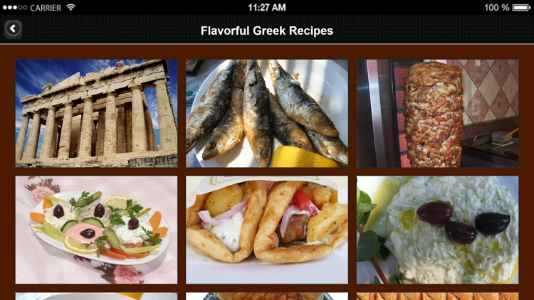 Greek Recipes from Flavorful Apps® screenshot-3