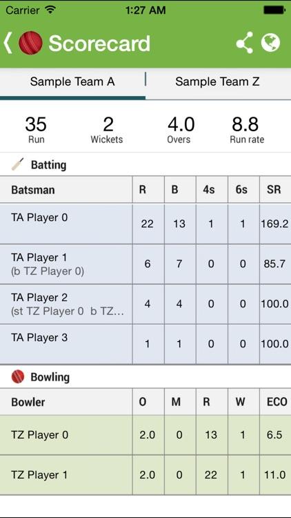 Chauka Cricket Scoring App screenshot-3