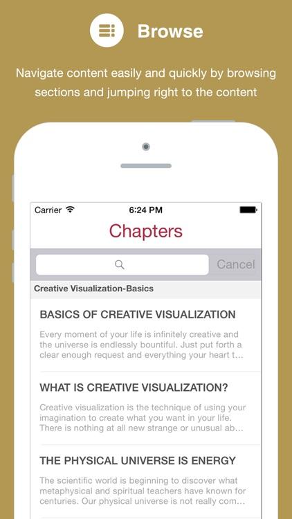 Creative Visualization (book with audio)
