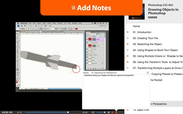 Course for photoshop cs5 drawing objects en mac app store ccuart Images