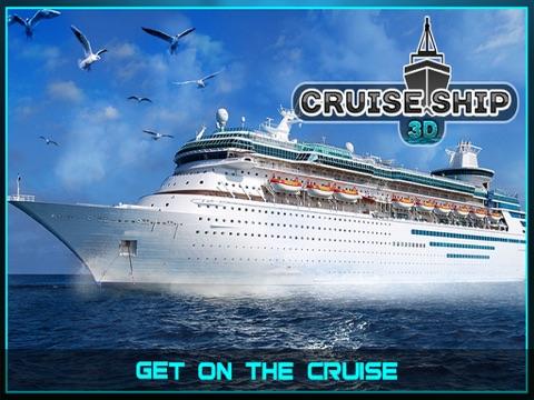Sailing Cruise Ship Simulator 3D-ipad-0