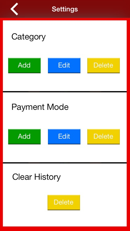 Pocket Expense OI 1.0 screenshot-4
