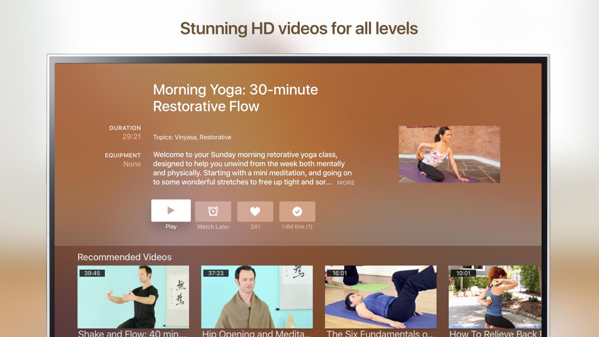 Grokker: Yoga, Fitness, Mind screenshot 18