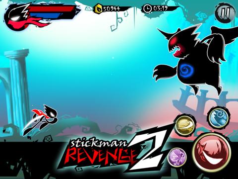 Stickman Revenge 2のおすすめ画像2