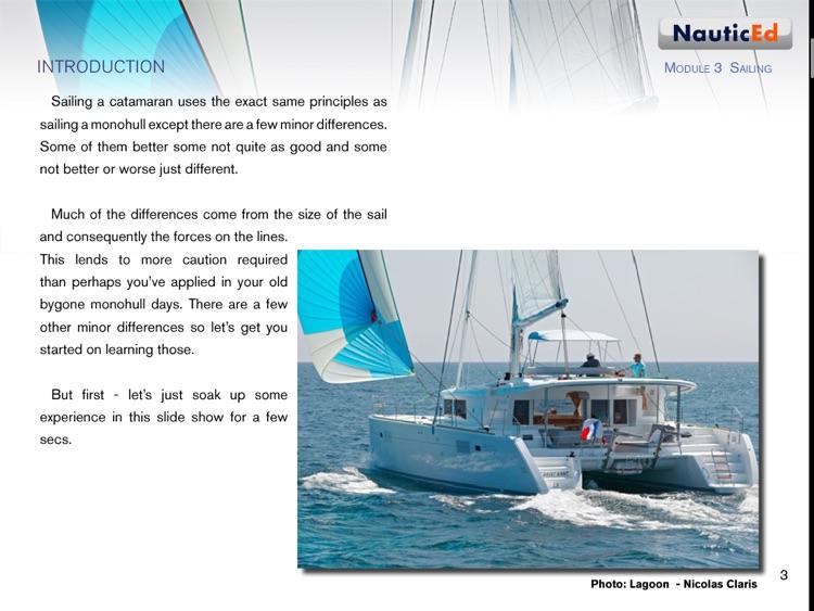 Catamaran Sailing Confidence screenshot-4