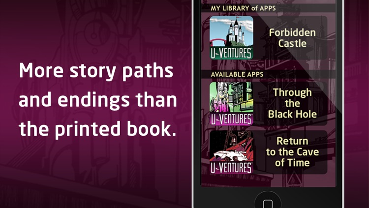 U-Ventures® Interactive Books by Edward Packard