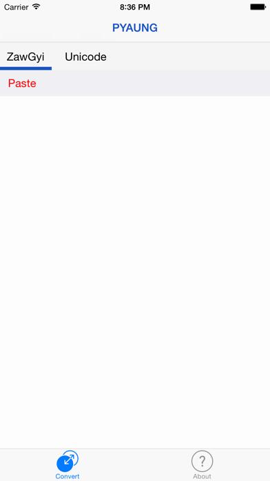 PYAUNG - Convert Between ZawGyi and Unicode by Hein thet