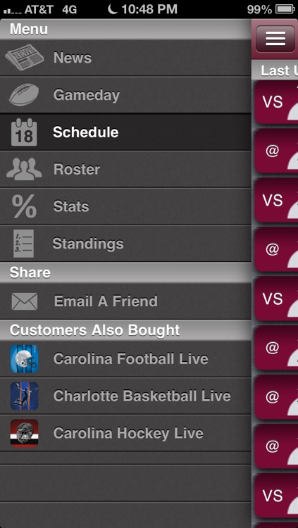 South Carolina Football Live screenshot-1
