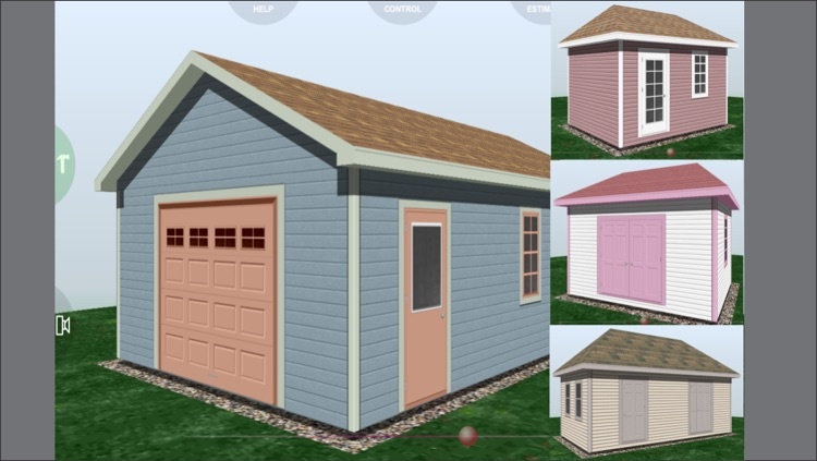 Design Shed Garage 3D