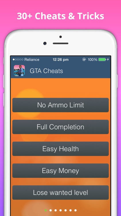 Cheats for GTA vice city screenshot-1