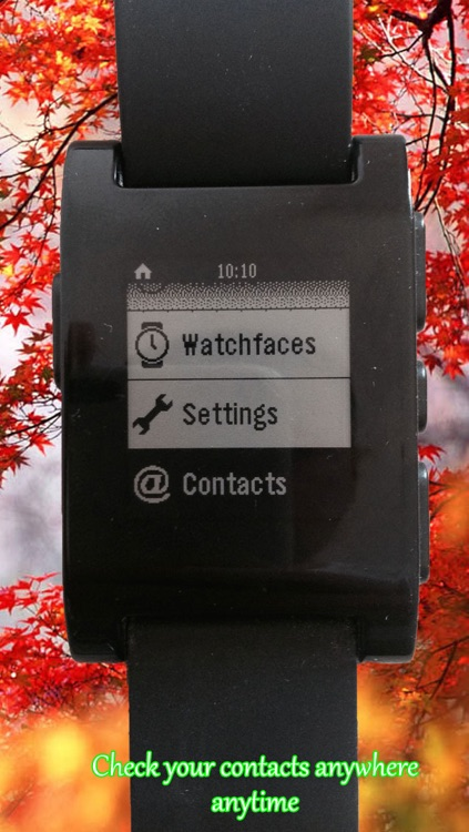 Contacts for Pebble Smartwatch screenshot-3